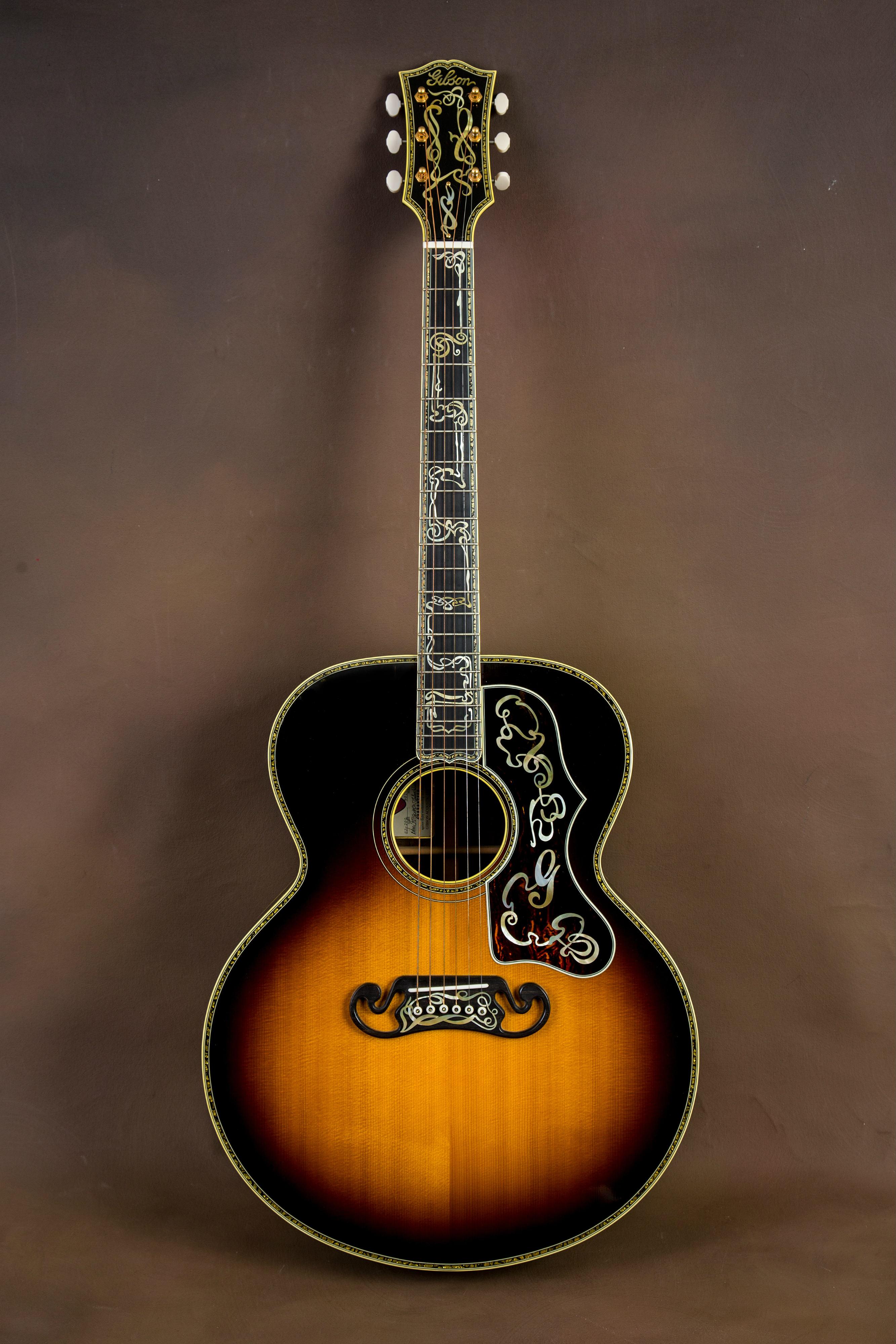 gibson sj 200 master museum custom acoustic guitar j 200 the acoustic room. Black Bedroom Furniture Sets. Home Design Ideas