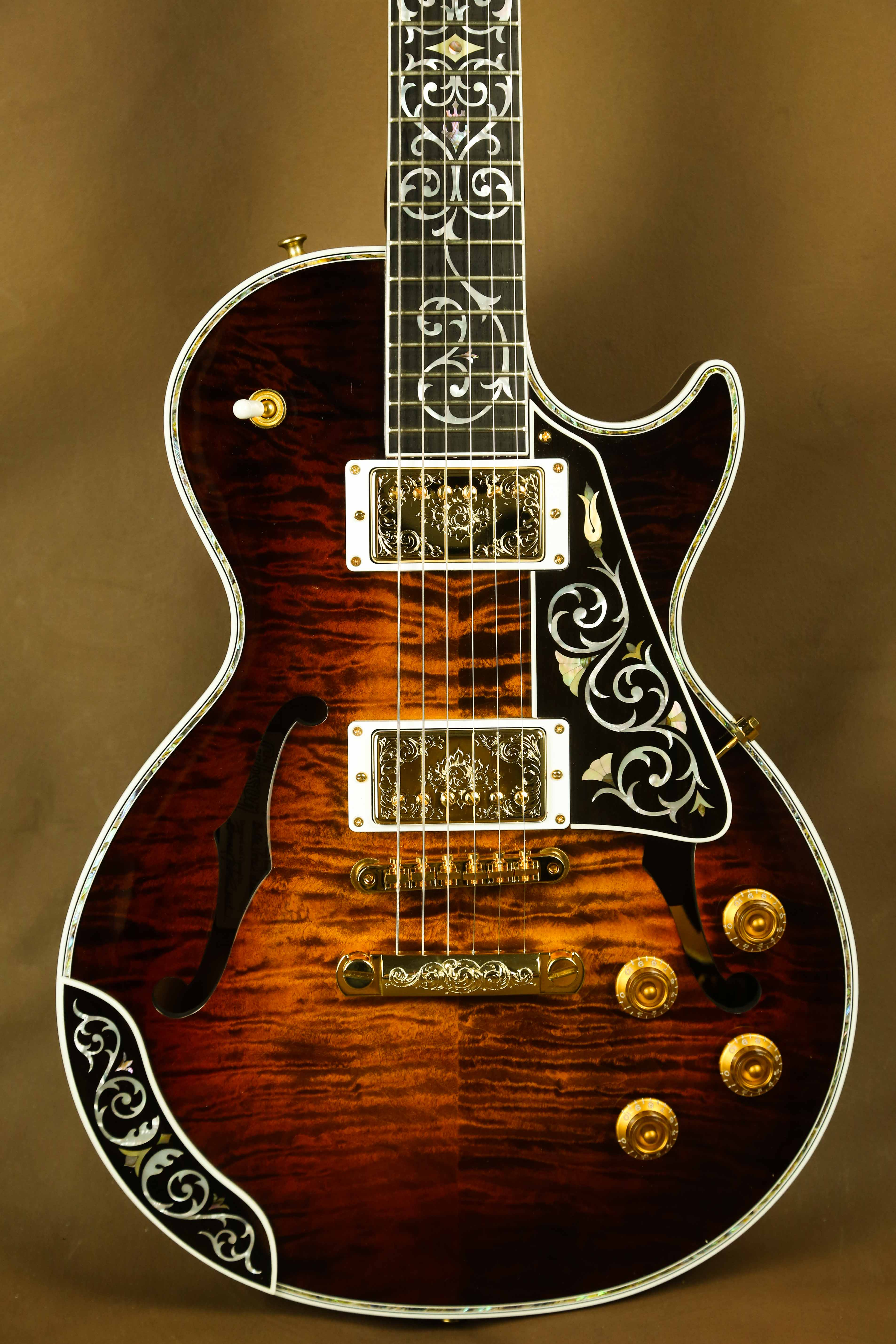 gibson les paul masterpiece custom electric guitar the acoustic room. Black Bedroom Furniture Sets. Home Design Ideas