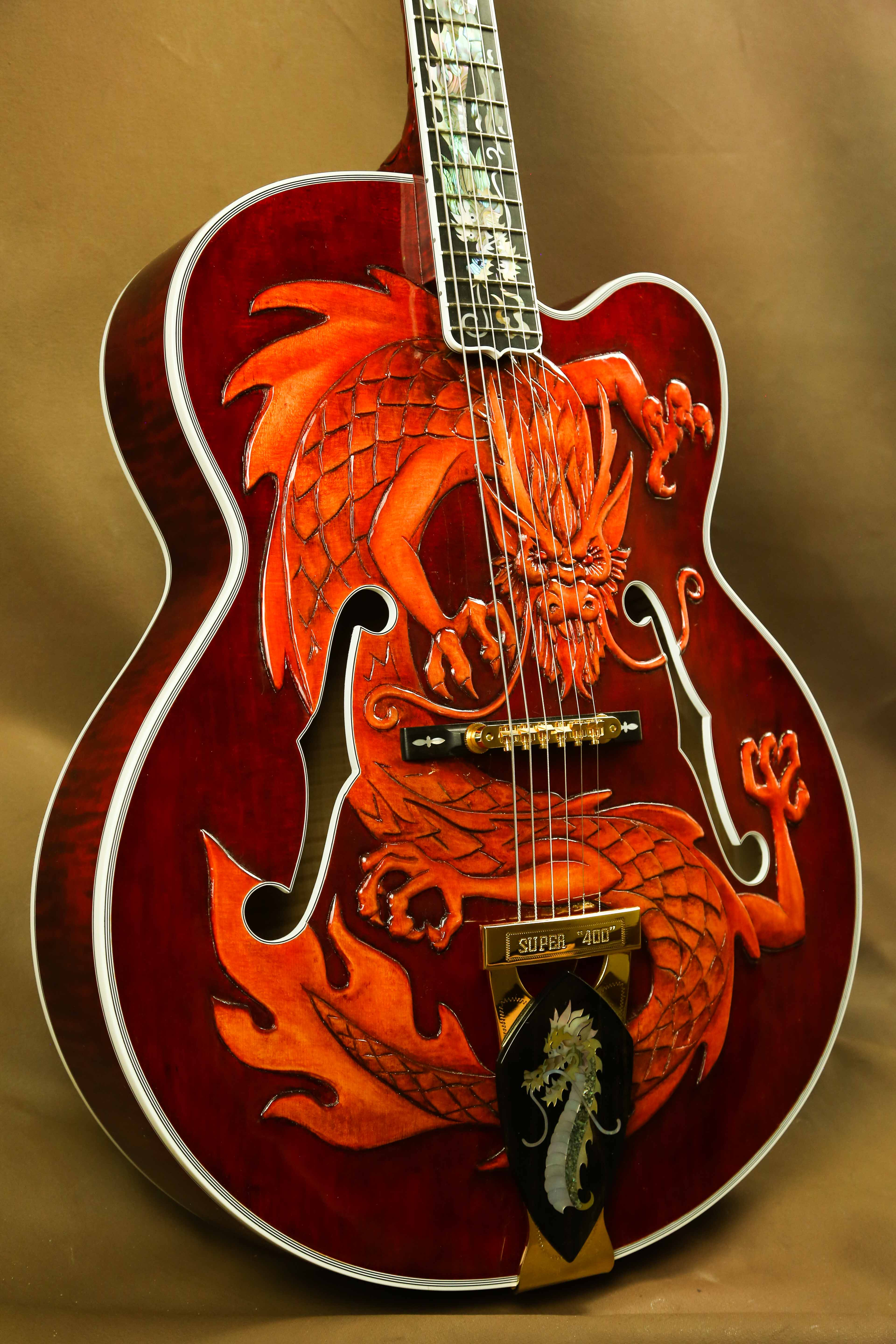 What Is Trade >> Gibson Super 400 China Dragon | The Acoustic Room